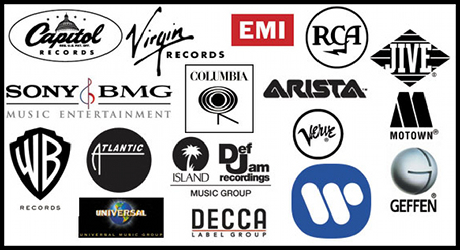 Image result for 90s record labels