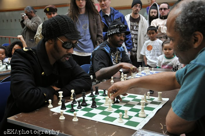 RZA in duel of the 64 squares (2)