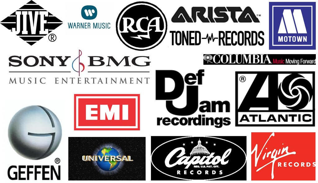 Collage of Record Labels